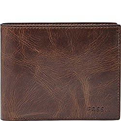 Fossil Derrick wallet brown