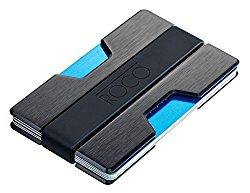 Roco aluminium wallet