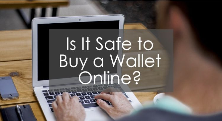 Title image about safety to buy wallet online