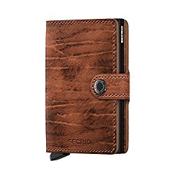 Secrid Miniwallet in brown color