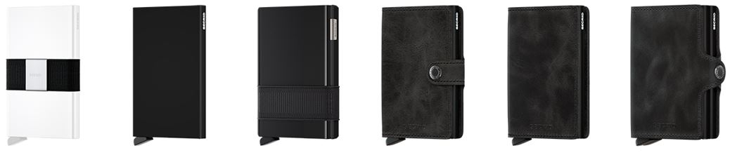 picture showing the secrid wallet collection