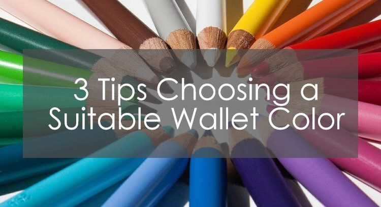 choosing a suiteable wallet color title image