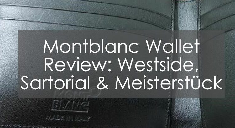 Title image to Montblanc Wallet review