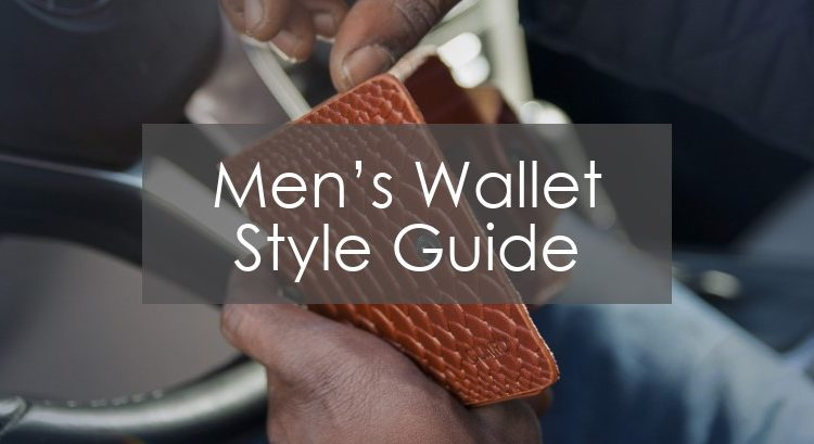 men's wallet style guide title picture
