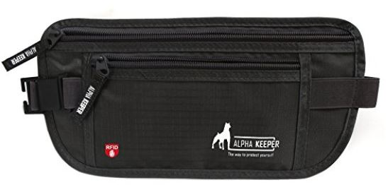 Belt wallet from Alpha Keeper