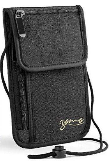 Neck wallet recommended by Walletisland